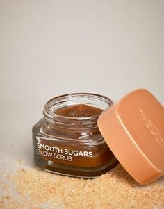 Разглаживающий сахарный скраб для лица и губ с маслом виноградных косточек и блестящим эффектом LOreal Paris 50 мл - Коричневый LOreal