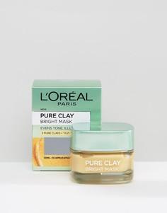 Маска для лица с глиной и осветляющим эффектом LOreal Paris Pure Clay - Бесцветный LOreal