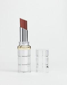 Блестящая губная помада LOreal Paris Color Riche 643 Hot Irl - Коричневый LOreal