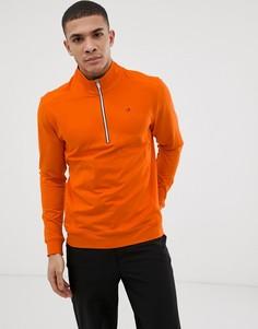 Оранжевый свитшот с молнией Calvin Klein Golf Galaxy - Оранжевый