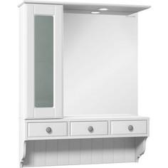 Зеркало-шкаф Edelform Дижон 78,2x97,7 белый (2-264-032-S)