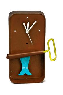 Настольные часы «Рыба в банке» Oxsidos