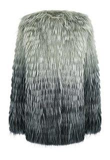 Жакет из меха енота на трикотаже Virtuale Fur Collection