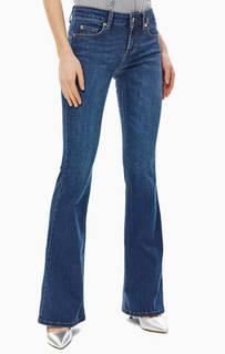 Расклешенные синие джинсы со стандартной посадкой Bottom Up Beat Liu Jo