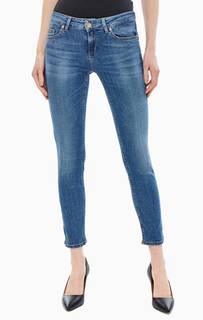 Зауженные синие джинсы со стандартной посадкой Bottom Up Classy Liu Jo