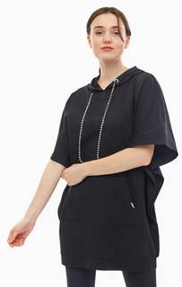 Короткое хлопковое платье с карманом-кенгуру Liu Jo Sport