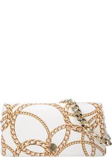 Кожаная сумка через плечо с короткой ручкой Helen Baldinini