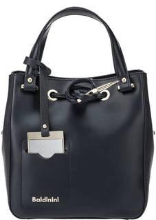 Синяя кожаная сумка через плечо Jasmine Baldinini