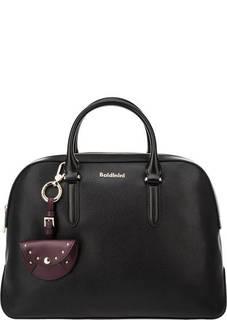 Кожаная сумка с короткими ручками Micol Baldinini