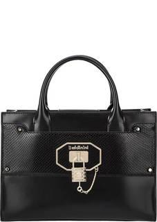 Кожаная сумка с двумя отделами Frida Baldinini