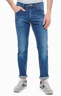 Прямые синие джинсы с декоративными заломами 11MWZ Wrangler