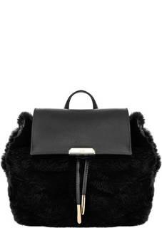 Сумка-рюкзак с меховой отделкой Saint Mortiz Cavalli Class