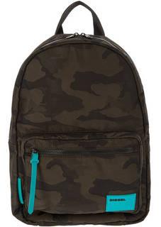 Текстильный рюкзак в стиле милитари Diesel