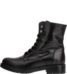 Кожаные ботинки с декоративной отделкой Tosca Blu Studio