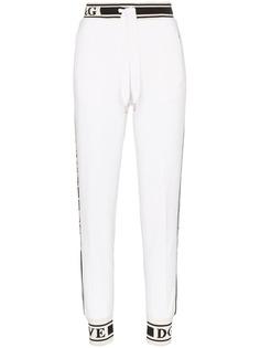 Dolce & Gabbana спортивные брюки с логотипами