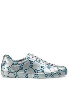 Gucci кроссовки Ace GG с покрытием