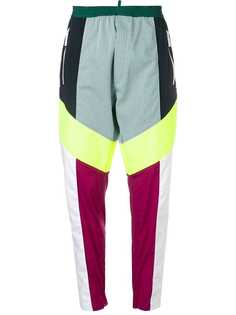 Dsquared2 спортивные брюки в стиле колор-блок