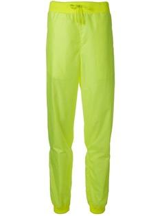 Off-White зауженные спортивные брюки
