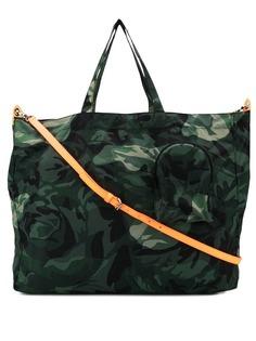 Alexander McQueen сумка-тоут с камуфляжным принтом