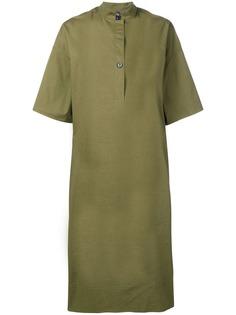 Fay платье миди с укороченными рукавами