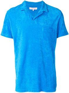 Orlebar Brown махровая рубашка-поло
