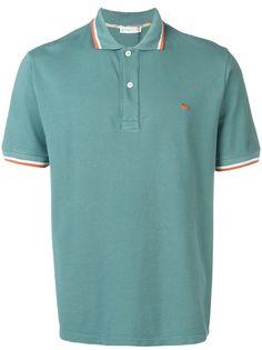 Etro рубашка-поло с полосками