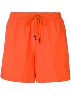 Etro плавательные шорты с поясом на шнурке
