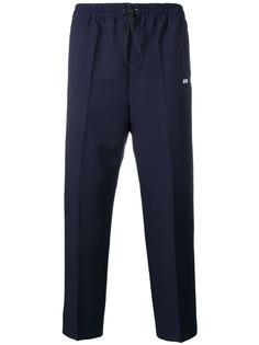 MSGM спортивные брюки с логотипом
