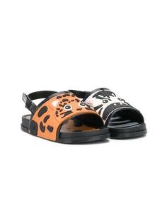 Mini Melissa сандалии в виде зверей