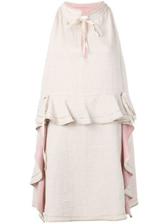 See By Chloé ruffle detail midi dress