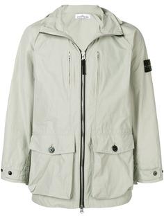 Stone Island куртка Micro Rep с капюшоном