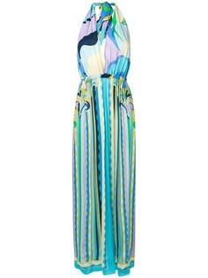 Emilio Pucci пляжное платье с геометричным принтом