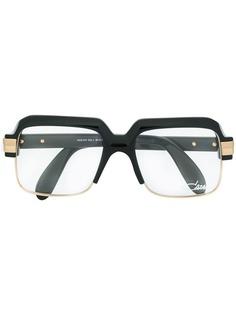 Cazal очки в массивной квадратной оправе