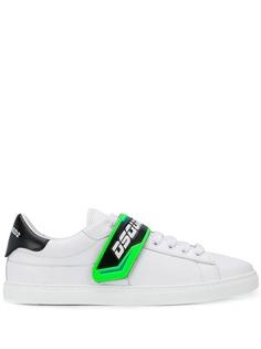 Dsquared2 кроссовки с ремешком с логотипом