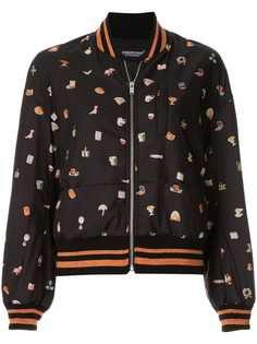 Undercover куртка-бомбер с графическим принтом