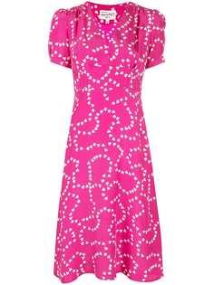 Hvn платье с принтом