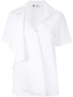 Lanvin рубашка с многослойным дизайном