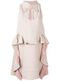 See By Chloé платье с оборками