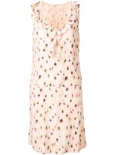 Bellerose платье трапеция с принтом