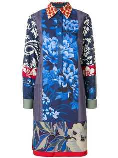 Etro платье-рубашка хенли с принтом