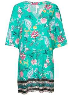 Seafolly antique bloom border kaftan