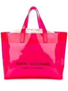 Junya Watanabe сумка-тоут с логотипом