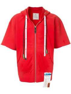 Maison Mihara Yasuhiro куртка из джерси с капюшоном