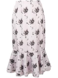 Brock Collection юбка с асимметричным подолом