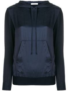 Max Mara contrasting front panel hoodie