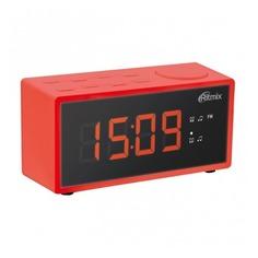 Радиобудильник RITMIX RRC-1212, красная подсветка, красный