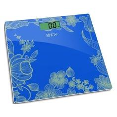 Напольные весы SINBO SBS 4429, до 180кг, цвет: бирюзовый