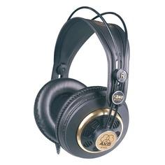Наушники AKG K240 Studio, мониторы, черный/золотистый, проводные