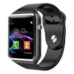 """Смарт-часы JET Phone SP1, 48мм, 1.54"""", черный / черный [sp1 black]"""