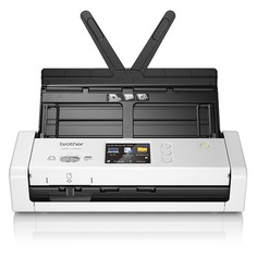 Сканер BROTHER ADS-1700W серый/черный [ads1700wtc1]